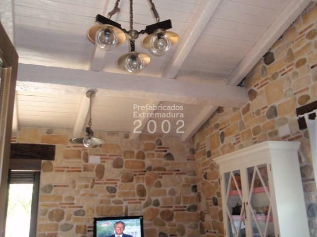 Prefabricados extremadura 2002 obras realizadas - Vigas decorativas imitacion madera ...