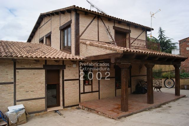 Prefabricados extremadura 2002 obras realizadas - Casas modulares rusticas ...