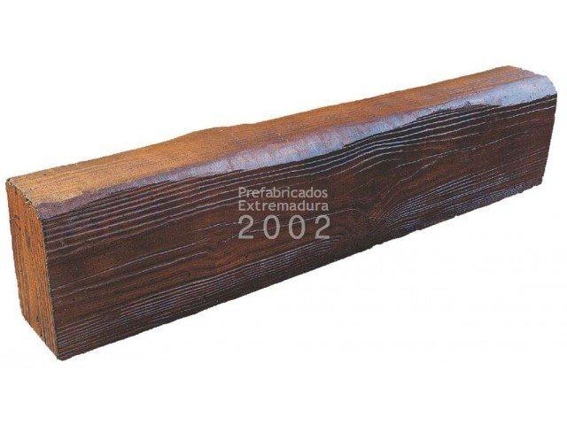 Prefabricados extremadura 2002 productos porches y for Vigas de madera para jardin